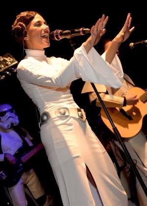 Jana Kramer - 2nd Annual Battle for the Bones Halloween Music Festival in Nashville