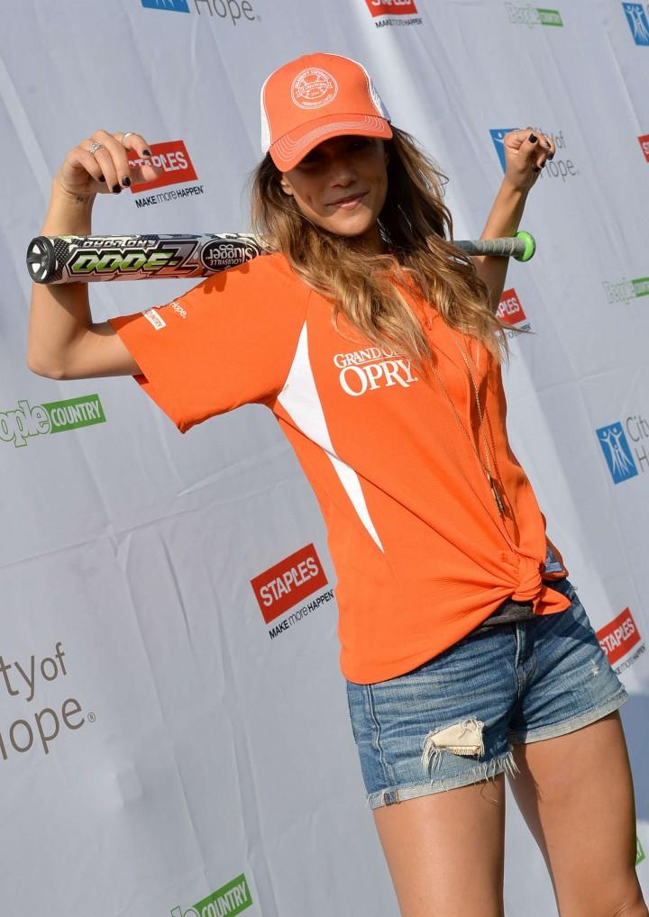 Jana Kramer 2014 Celebrity Softball Game -04