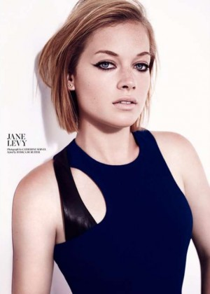 Jane Levy - W Magazine (December 2014)