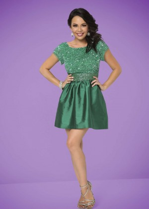Janel Parrish - 2014 Dancing With the Stars Promos