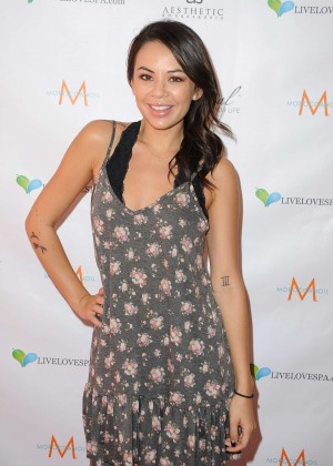 Janel Parrish - SPLASH Media Event by Live Love Spa in Century City