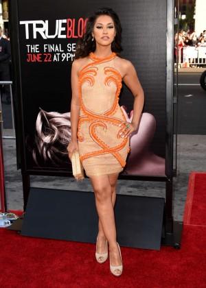 Janina Gavankar - True Blood Season 7 premiere in Hollywood -01
