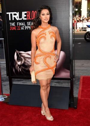 Janina Gavankar - True Blood Season 7 premiere in Hollywood -02