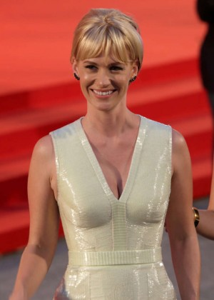 "January Jones - ""Good Kill"" Premiere at 71st Venice Film Festival in Venice"
