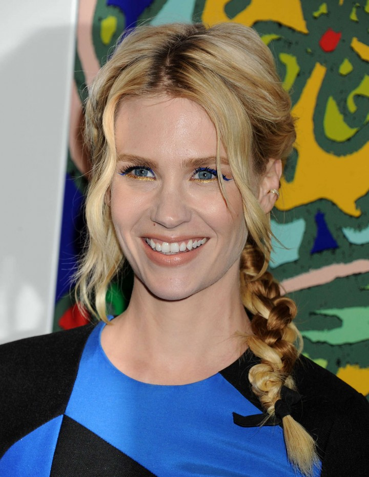 January Jones: Mad Men Season 7 Premiere -19