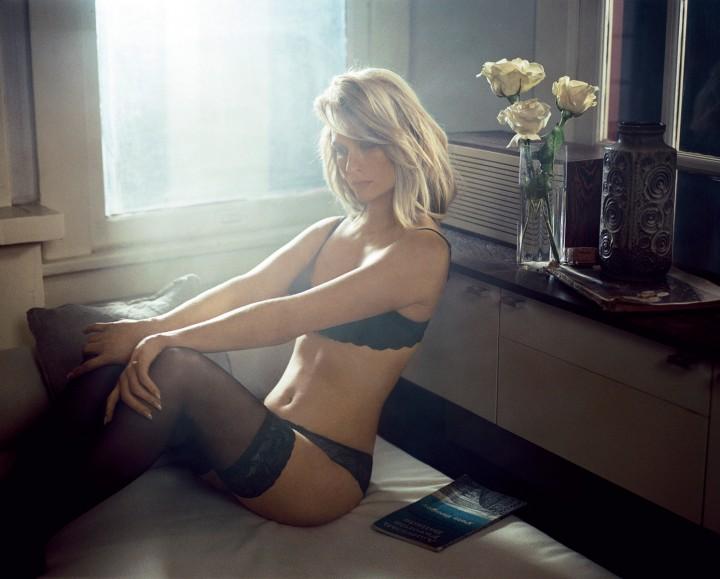 January Jones - Vogue Italy Magazine (August 2014)