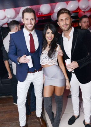 Jasmin Walia Night Out at Bijou Club in Manchester