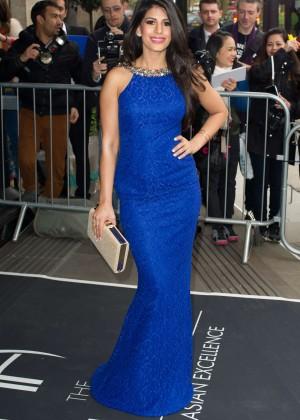 Jasmin Walian: 2014 The Asian Awards -01