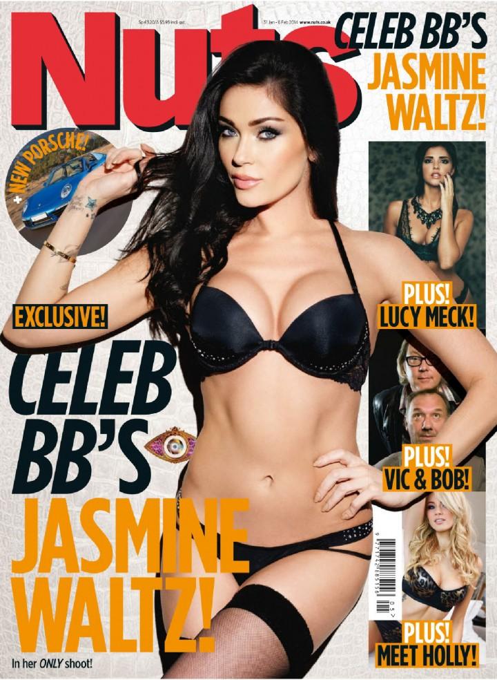 Jasmine Waltz – Nuts Magazine (January 2014)