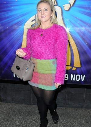 Jazmine Franks - Saturday Night Fever Press Night in Manchester