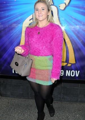 Jazmine Franks - Saturday Night Fever Press Night in Manchester