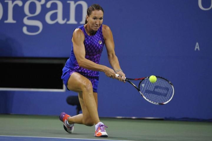 Jelena Jankovic - 2014 US Open (4th Round match)