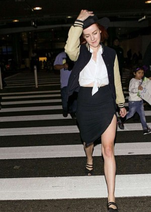 Jena Malone at LAX Airport in LA