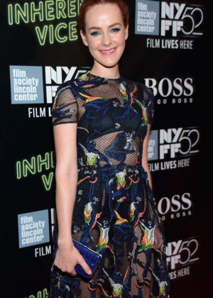 """Jena Malone - """"Inherent Vice"""" Premiere in NYC"""