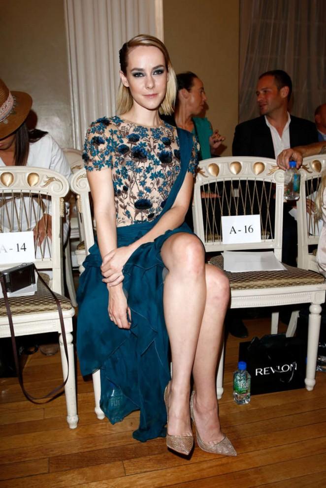 Jena Malone - Marchesa SS15 Fashion Show in London