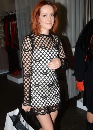 Jena Malone - Shoping at Revolve Popup Store in LA
