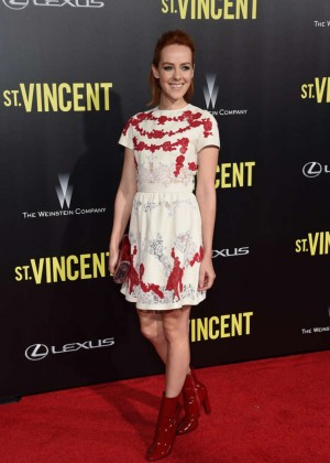 "Jena Malone - ""St. Vincent"" Premiere in NY at the Ziegfeld Theater"