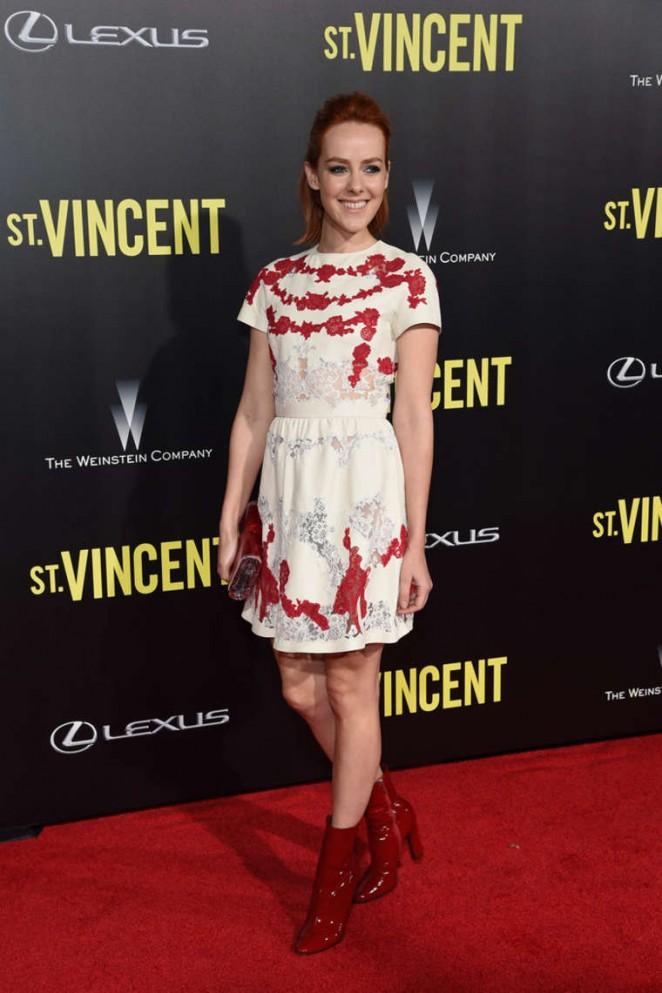 "Jena Malone - ""St. Vincent"" Premiere in NY at the Ziegfeld Theater"