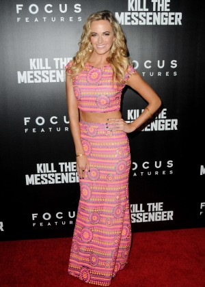 Jena Sims - 'Kill The Messenger' Premiere in NYC