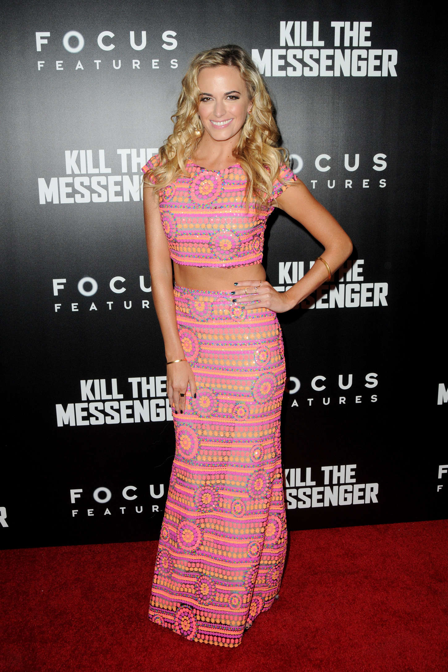 Jena Sims At Premiere Kill The Messenger In Nyc Gotceleb