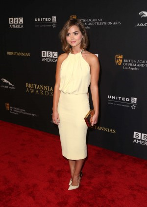 Jenna Coleman - BAFTA Los Angeles Jaguar Britannia Awards in Beverly Hills