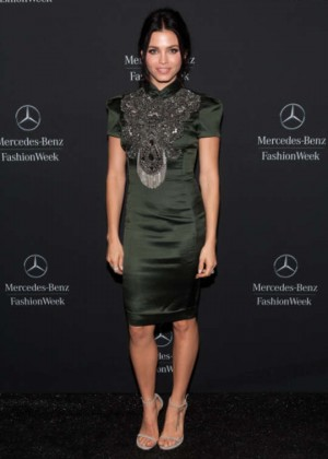Jenna Dewan Tatum - Mercedes-Benz Fashion Week in NY