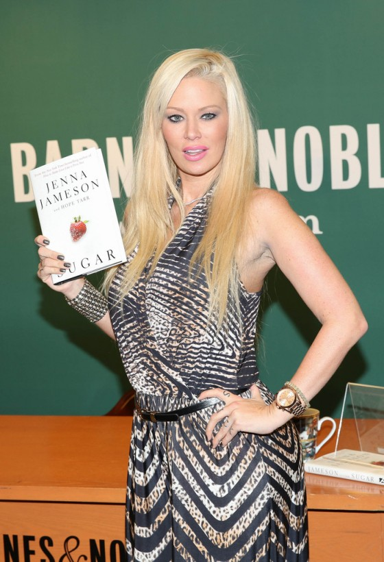 Jenna Jameson – Book Signing at Barnes & Noble in NYC