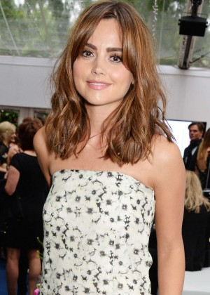 Jenna-Louise Coleman: 2014 Glamour Women of the Year Awards -01