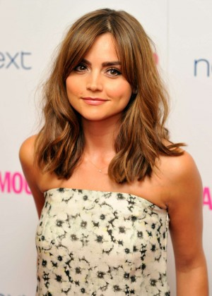 Jenna-Louise Coleman: 2014 Glamour Women of the Year Awards -02