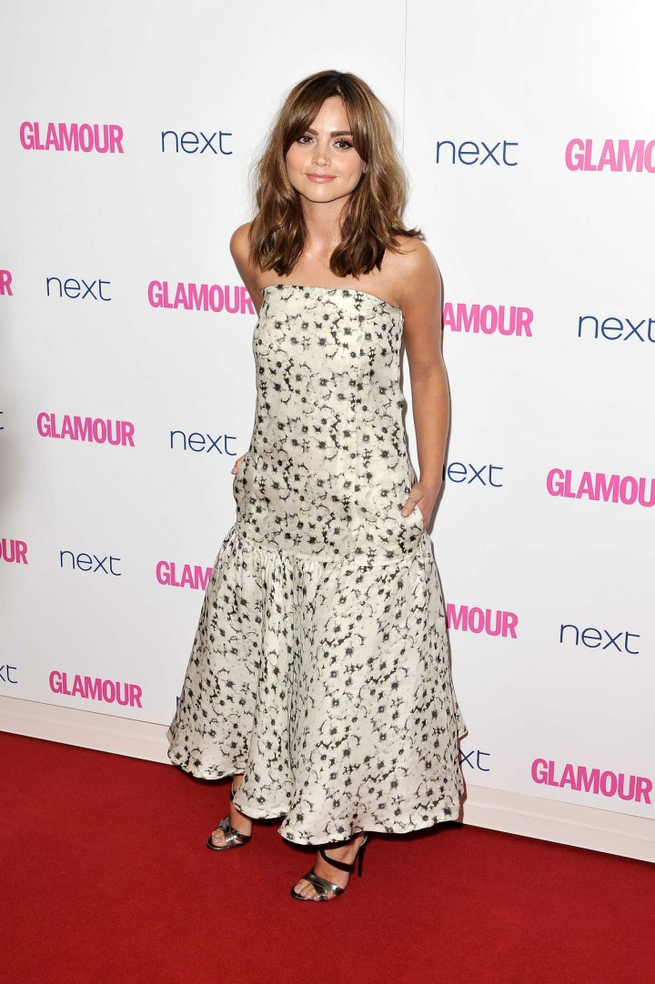 Jenna-Louise Coleman: 2014 Glamour Women of the Year Awards -03
