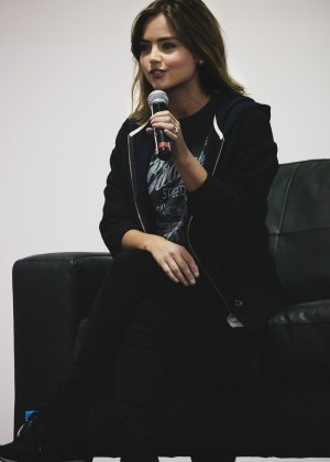 Jenna Louise Coleman - Armageddon Expo in Melbourne Australia