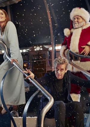 "Jenna-Louise Coleman - ""Doctor Who"" 2014 Christmas Special Promo Still"