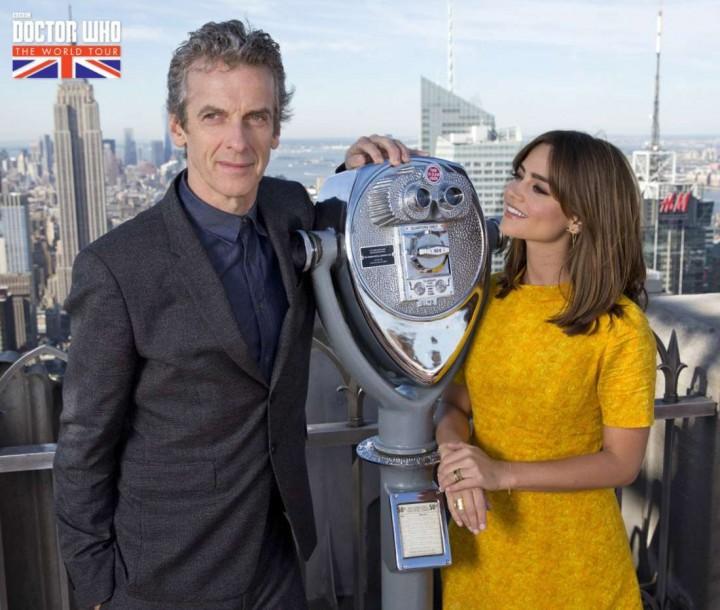 """Jenna Louise Coleman – """"Doctor Who"""" Photocall in New York"""