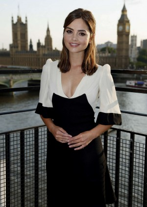 "Jenna Louise Coleman - ""Doctor Who"" Premiere in London"