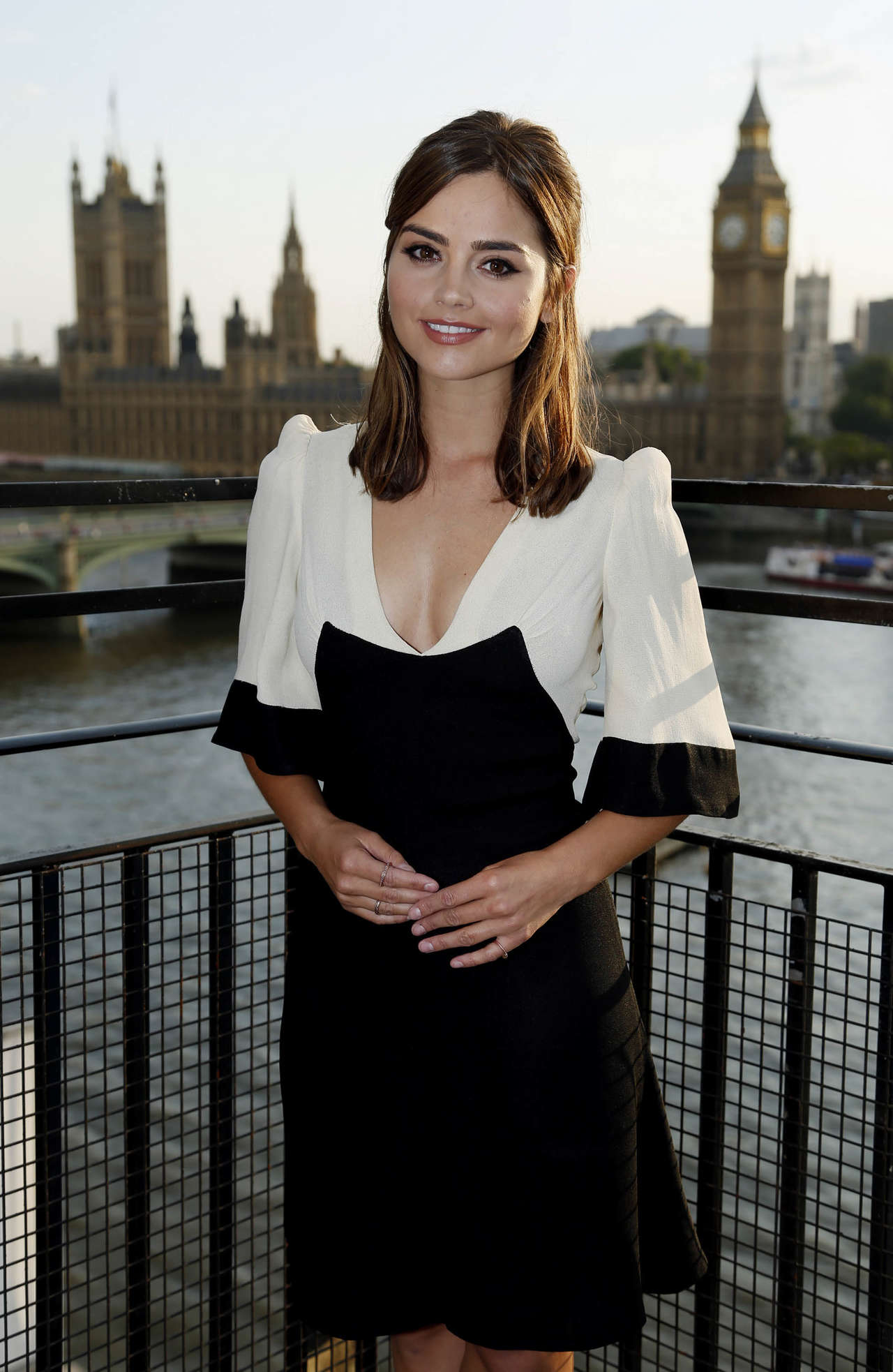 jenna louise coleman � �doctor who� premiere in london
