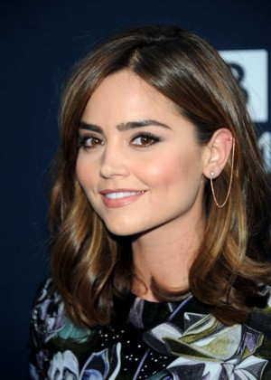 "Jenna Louise Coleman - ""Doctor Who"" Premiere in NYC"