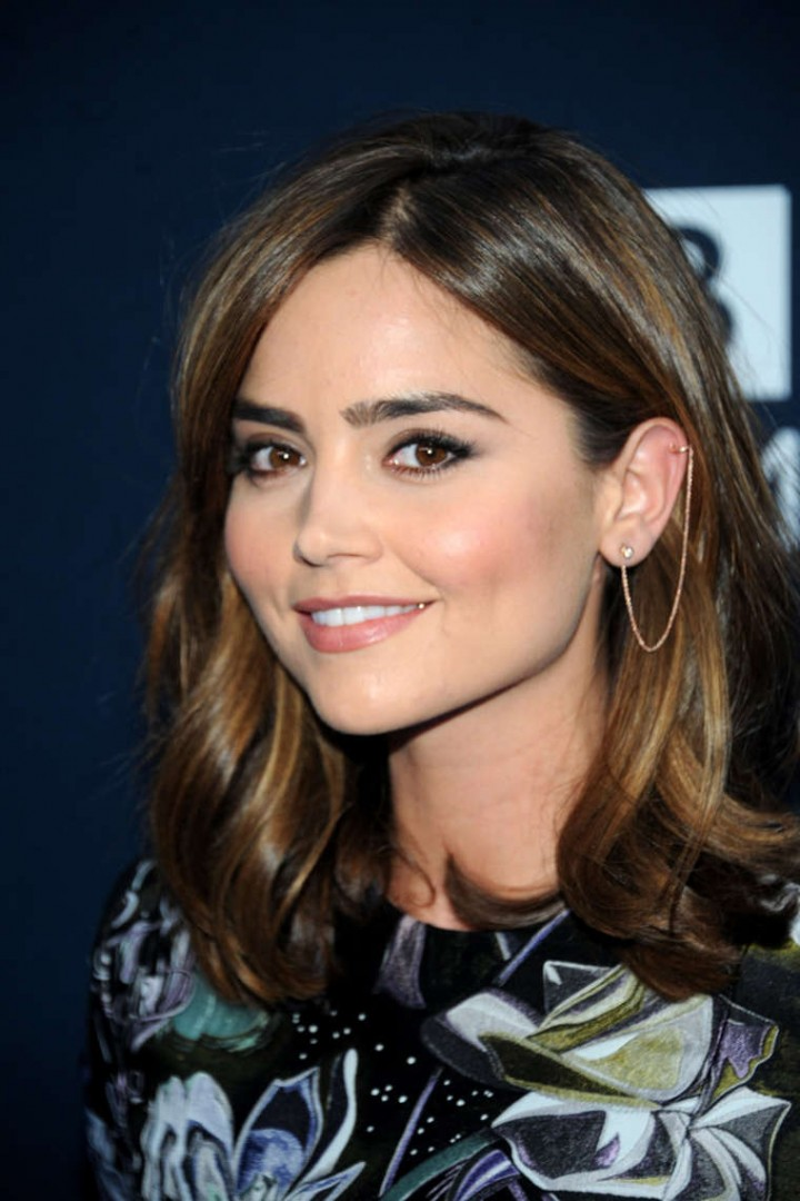 """Jenna Louise Coleman – """"Doctor Who"""" Premiere in NYC"""