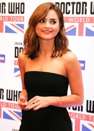 "Jenna Louise Coleman - ""Doctor Who"" World Tour in Rio de Janeiro"