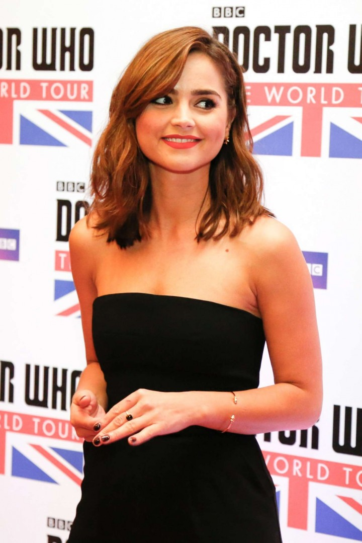 Jenna Louise Coleman: Doctor Who World Tour in Rio -01