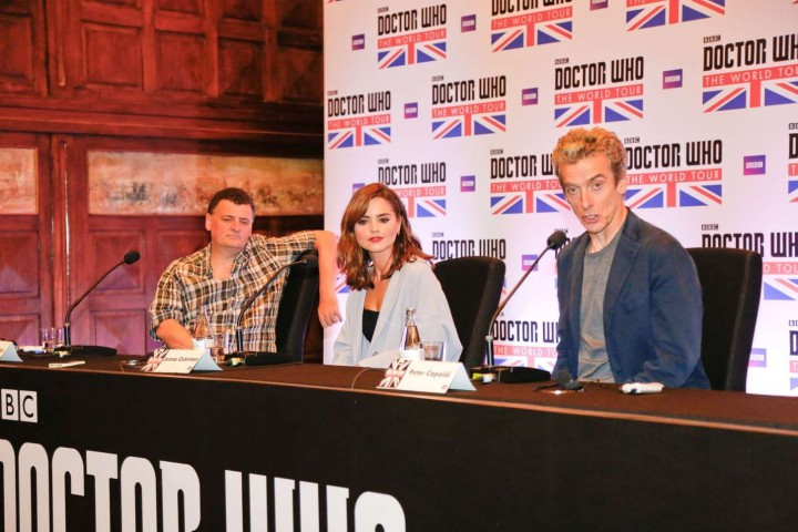 Jenna Louise Coleman: Doctor Who World Tour in Rio -02