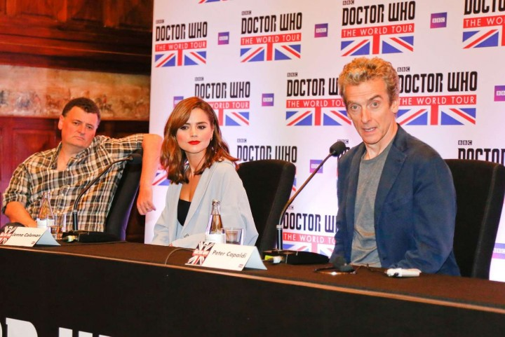 Jenna Louise Coleman: Doctor Who World Tour in Rio -03