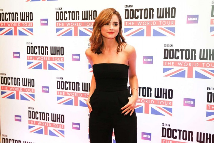 Jenna Louise Coleman: Doctor Who World Tour in Rio -05