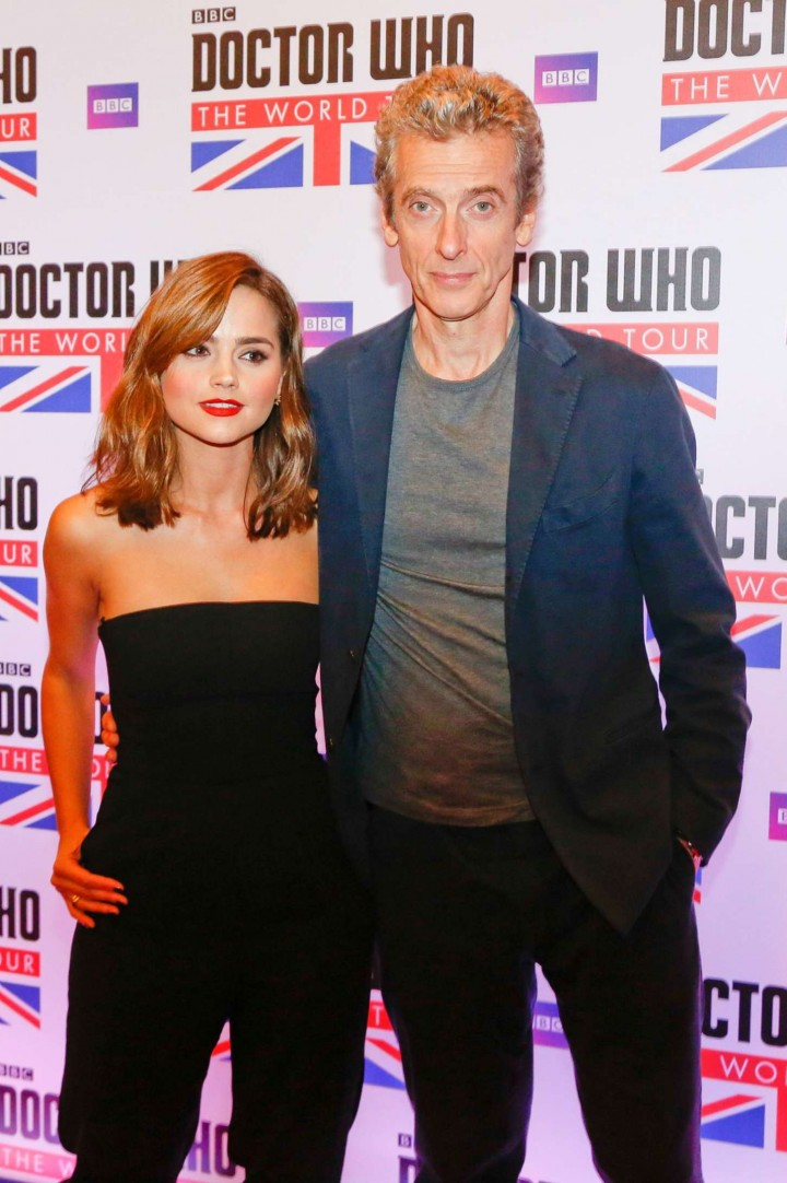 Jenna Louise Coleman: Doctor Who World Tour in Rio -07
