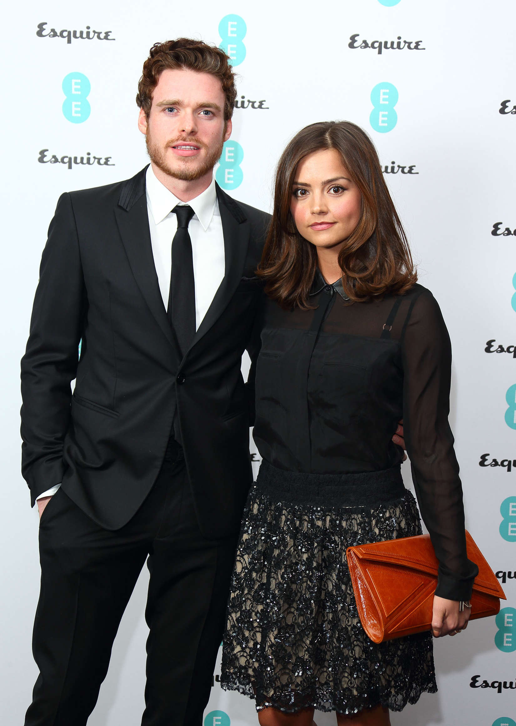 Jenna Louise Coleman Ee Esquire Host Pre Bafta Party Full