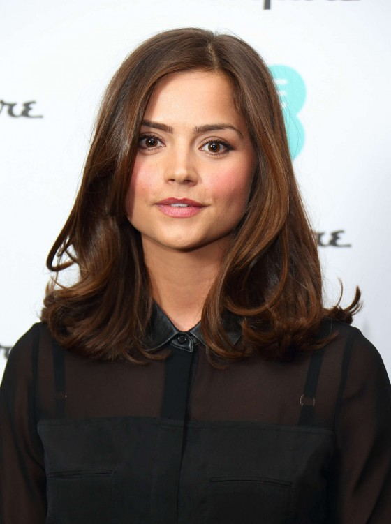 Jenna-Louise Coleman - EE Esquire Host Pre-BAFTA Party -10