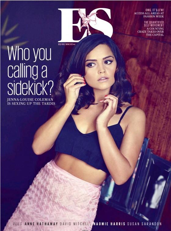 Jenna Louise Coleman – ES Magazine 2013 -01