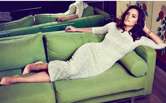 Jenna Louise Coleman – ES Magazine 2013 -02