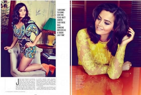 Jenna Louise Coleman – ES Magazine 2013 -03