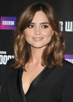 "Jenna Louise Coleman - Premiere ""Doctor Who"" in London"