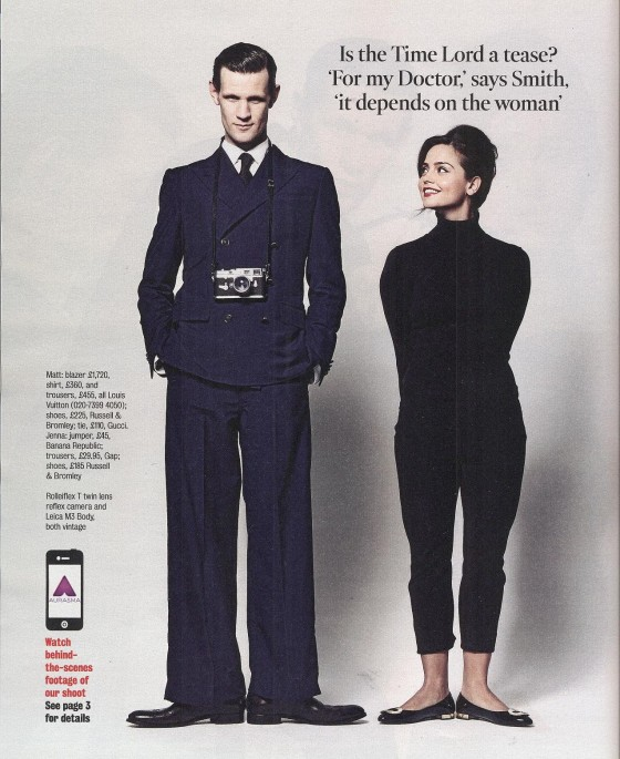 Jenna Louise Coleman in The Times Magazine – March 2013 -04